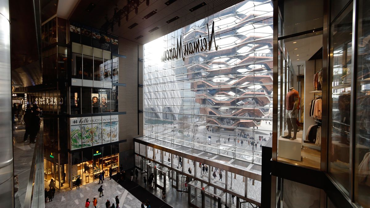 New York S New Malls Hudson Yards Empire Outlets And More