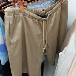 West 14th sand shorts, $195 (were $465)
