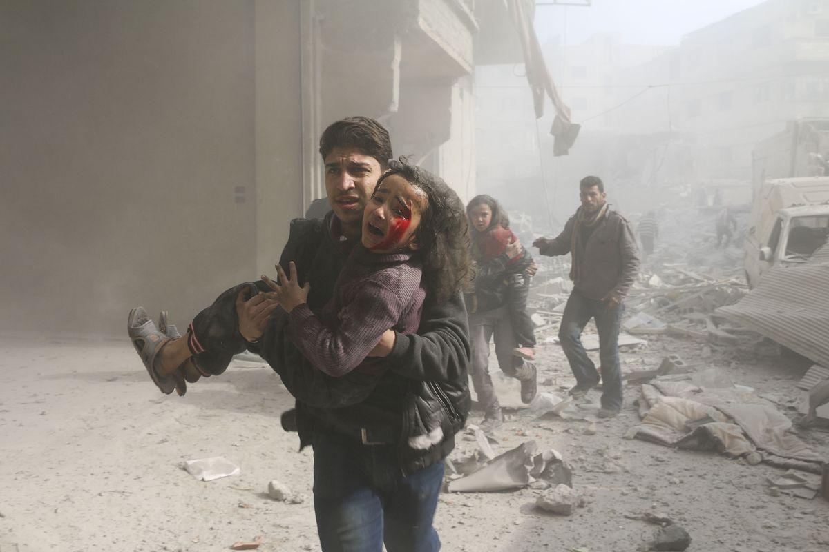 "Eastern Ghouta: Syria's Bashar al-Assad's plan is ""siege, starve"