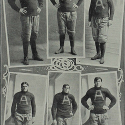 Individual shots of players on the 1903 team.