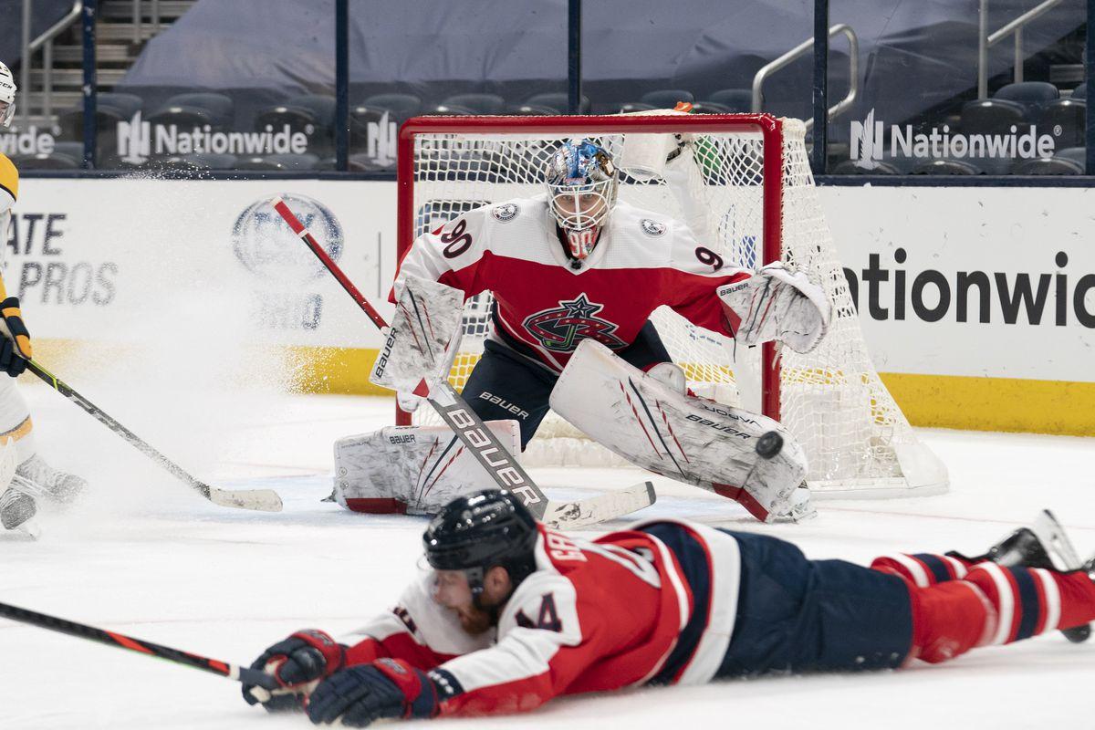 NHL: FEB 20 Predators at Blue Jackets