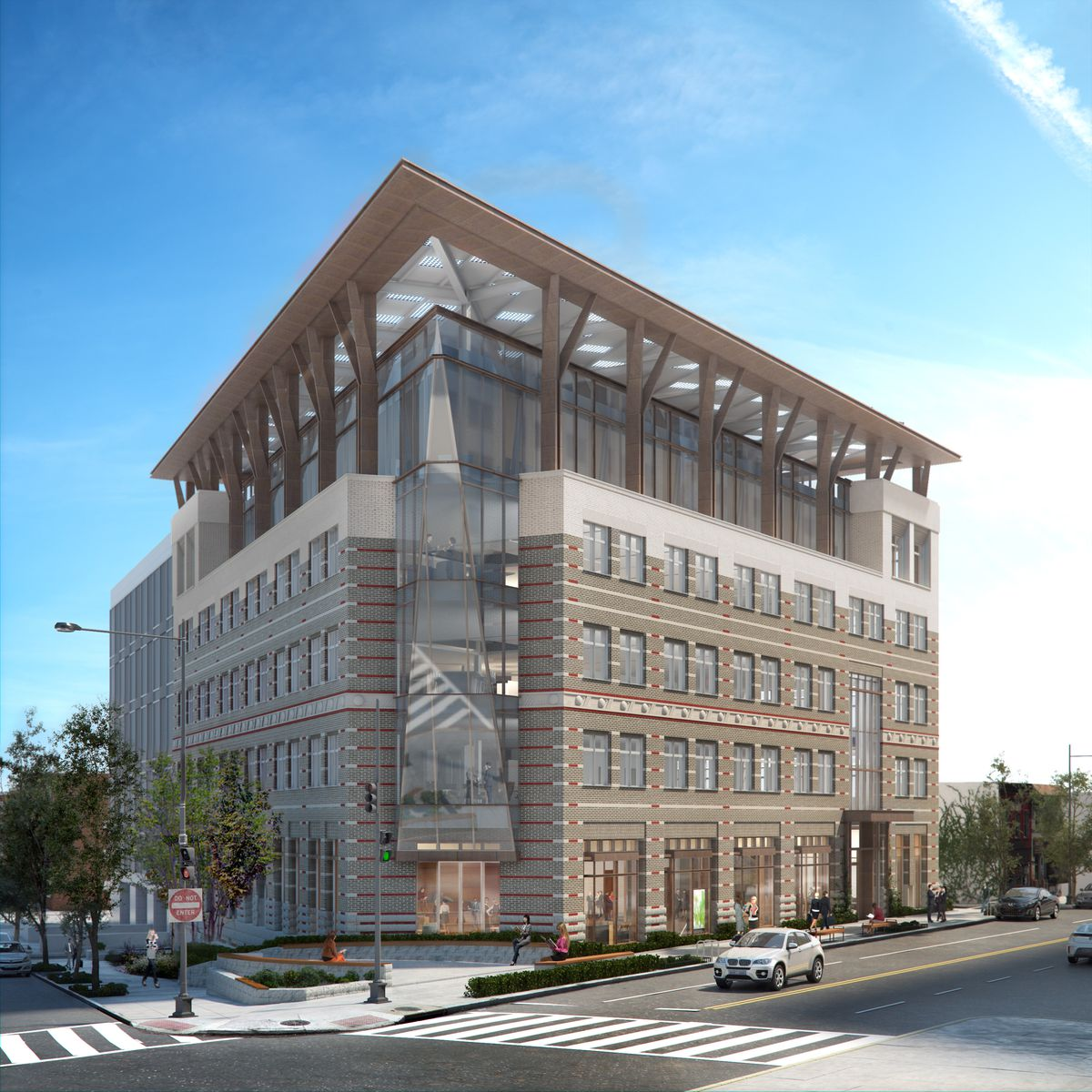 The American Geophysical Union's new headquarters in Washington, DC, a net-zero-energy building.