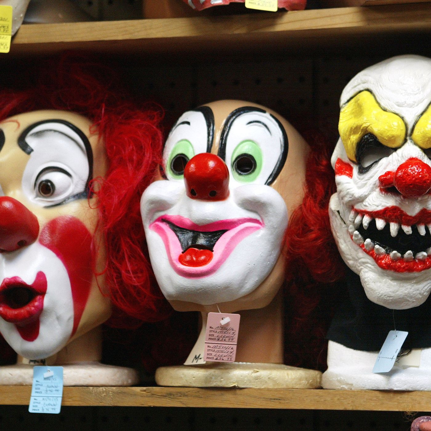 The great clown panic of 2016 is a hoax  But the terrifying
