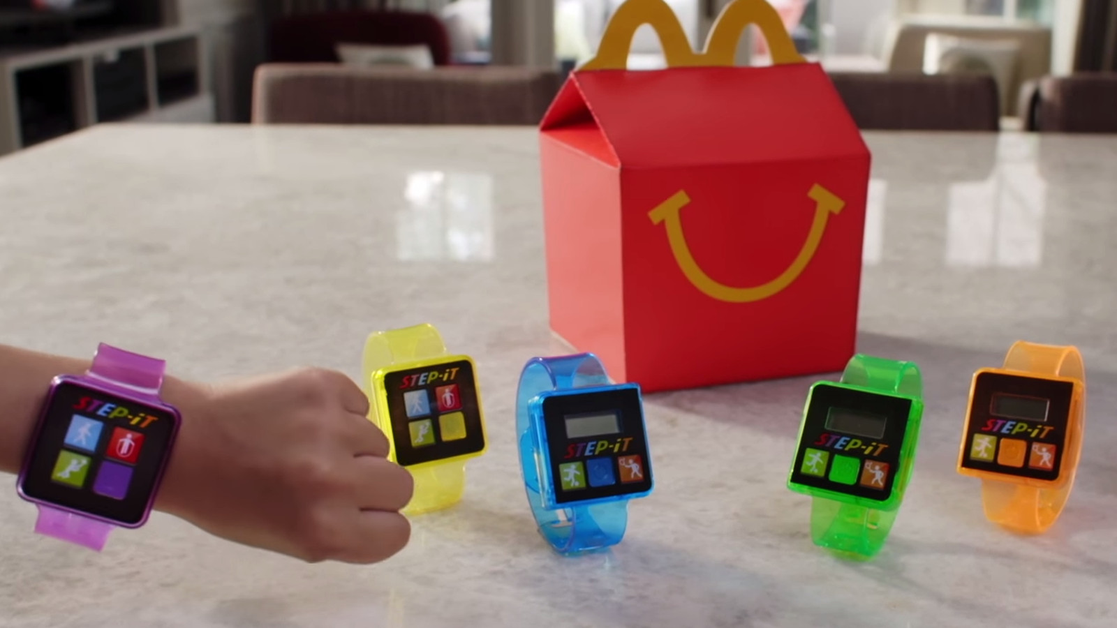 mcdonald u0026 39 s gives up on fitness tracker happy meals after