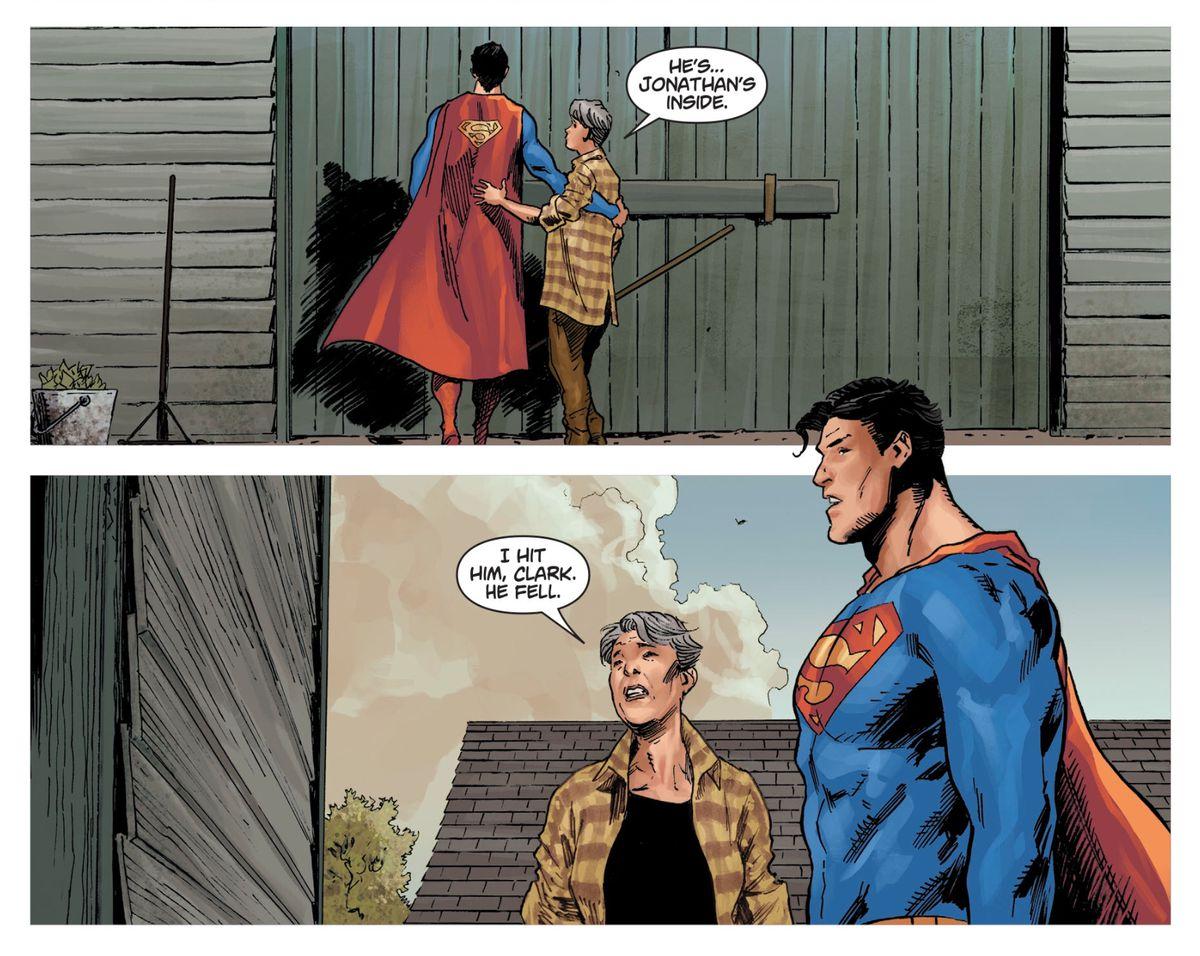 Superman in DCeased #3, DC Comics (2019).