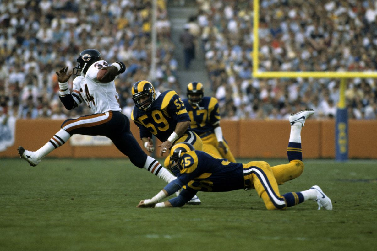 Chicago Bears vs Los Angeles Rams - November 11, 1984