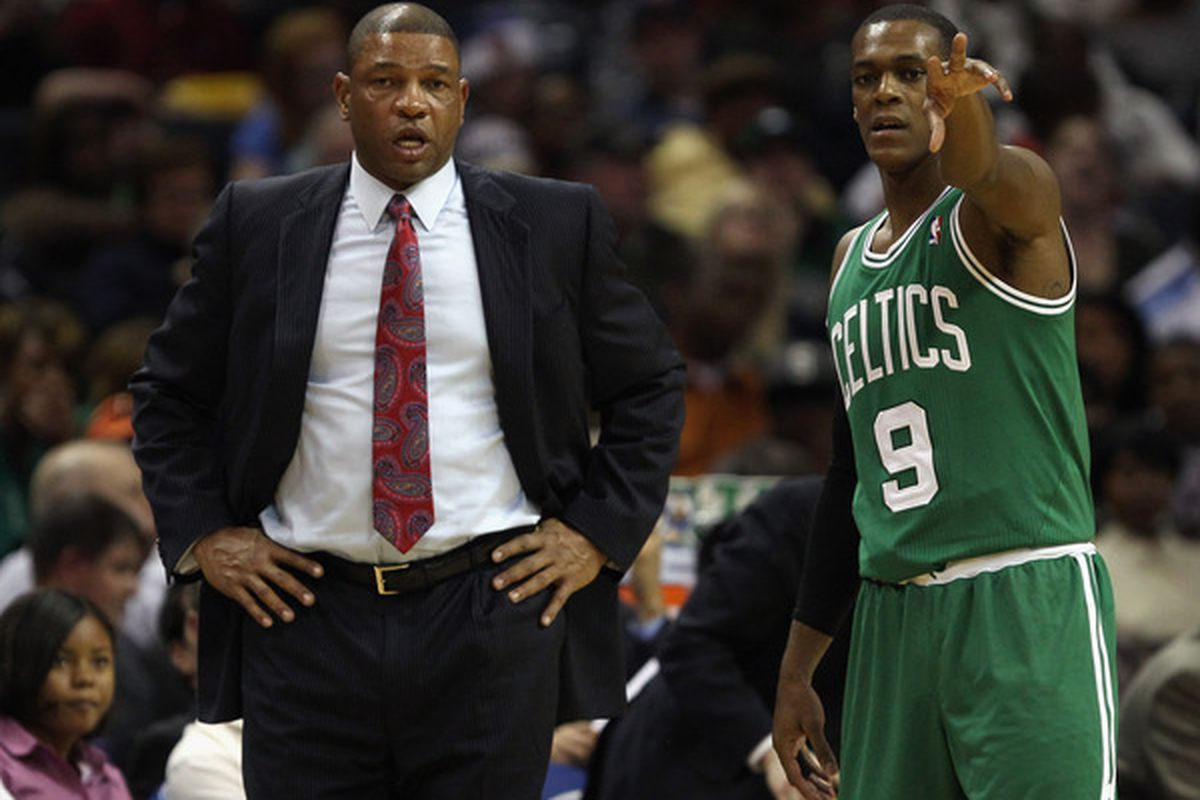 So... yeah, you're our guy Rondo. Just ignore all that stuff over there.