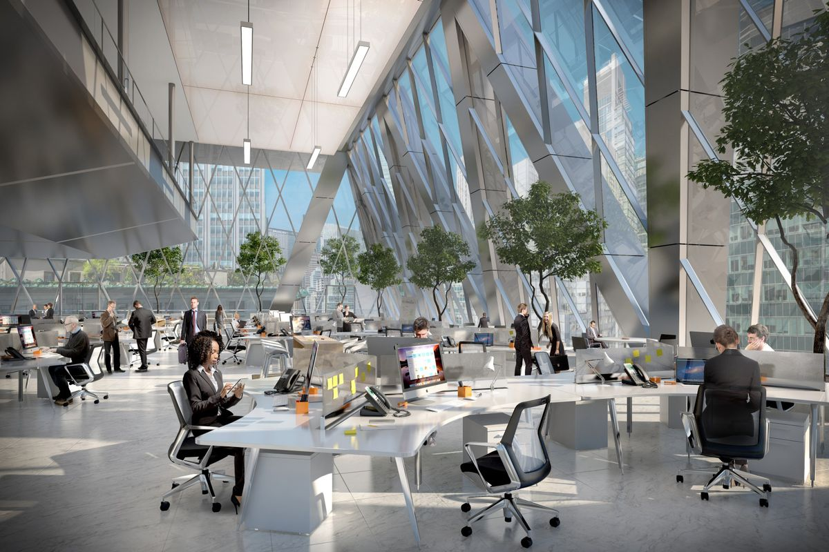 norman foster office. Foster + Partners Emerged Victorious, But The Project Didn\u0027t Actually Get Off Ground Until A Few Years Later. Construction On Is Set To Wrap Norman Office O