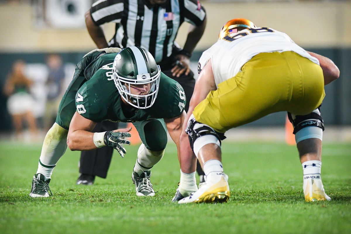 COLLEGE FOOTBALL: SEP 23 Notre Dame at Michigan State