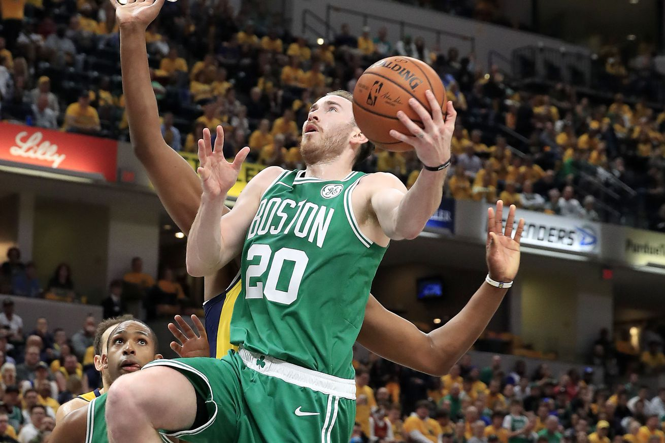 Gordon Hayward reflects on Pacers series, looks ahead at match up with Bucks