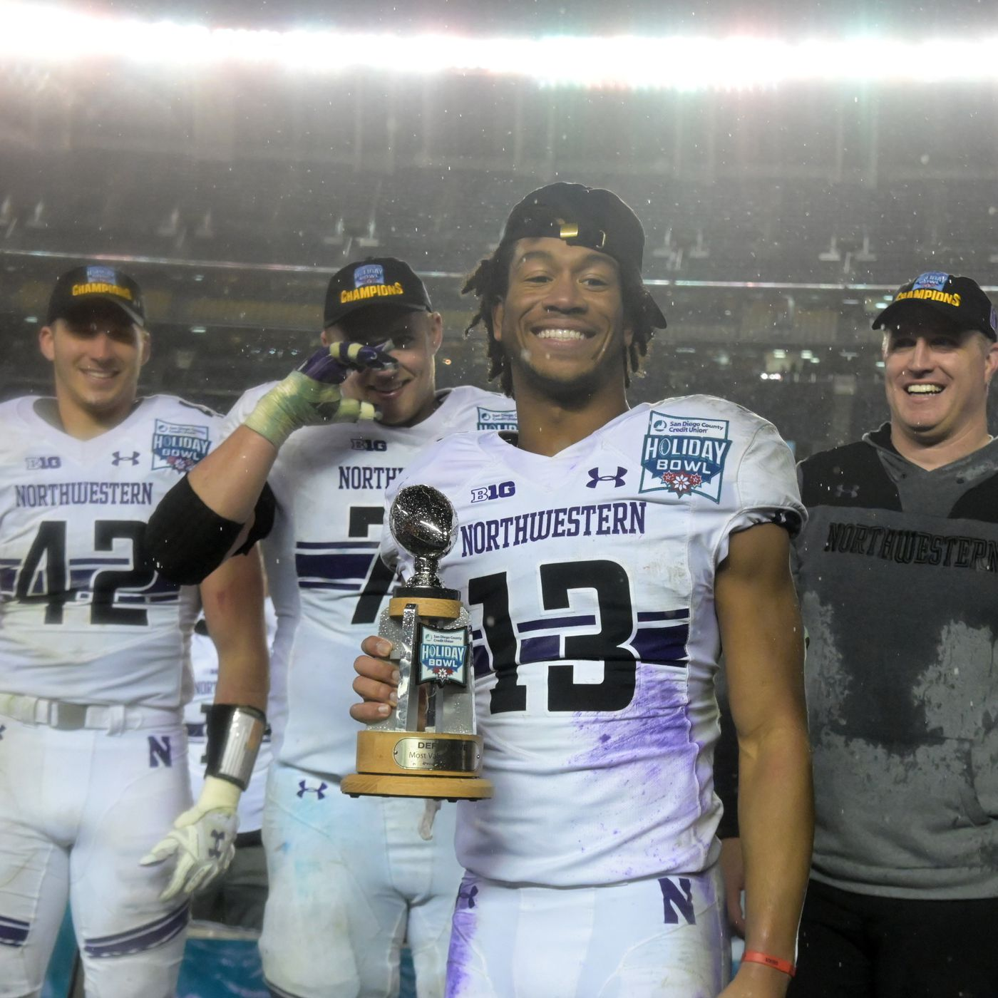 Northwestern Football Record Predictions Schedule Games Picks Off Tackle Empire