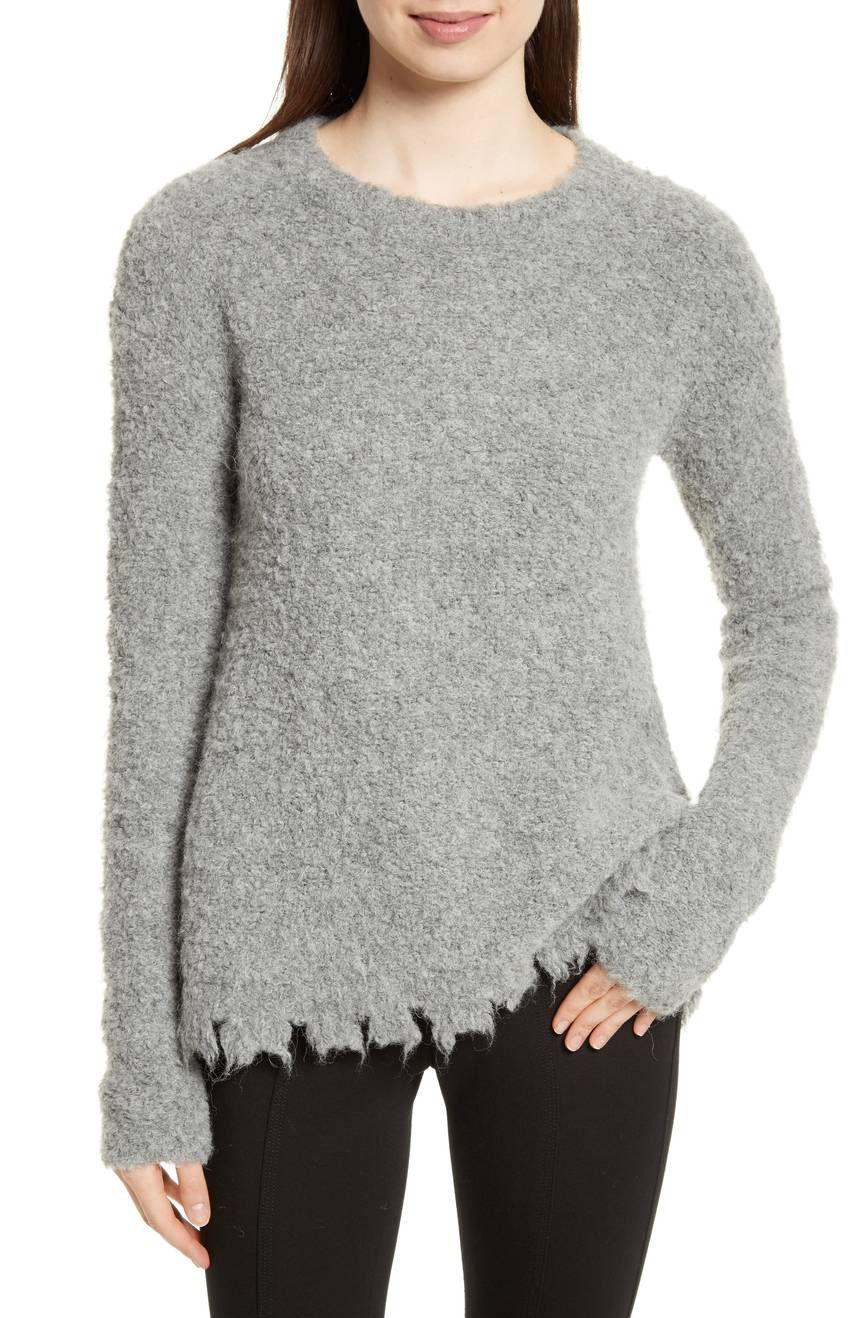 ATM Anthony Thomas Melillo Destroyed Hem Sweater, $179.98 (was $375)