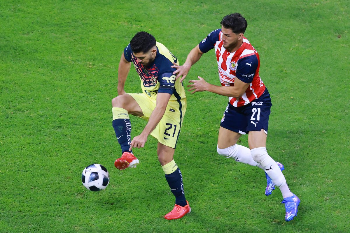 America v Chivas - Torneo Apertura 2021 Liga MX