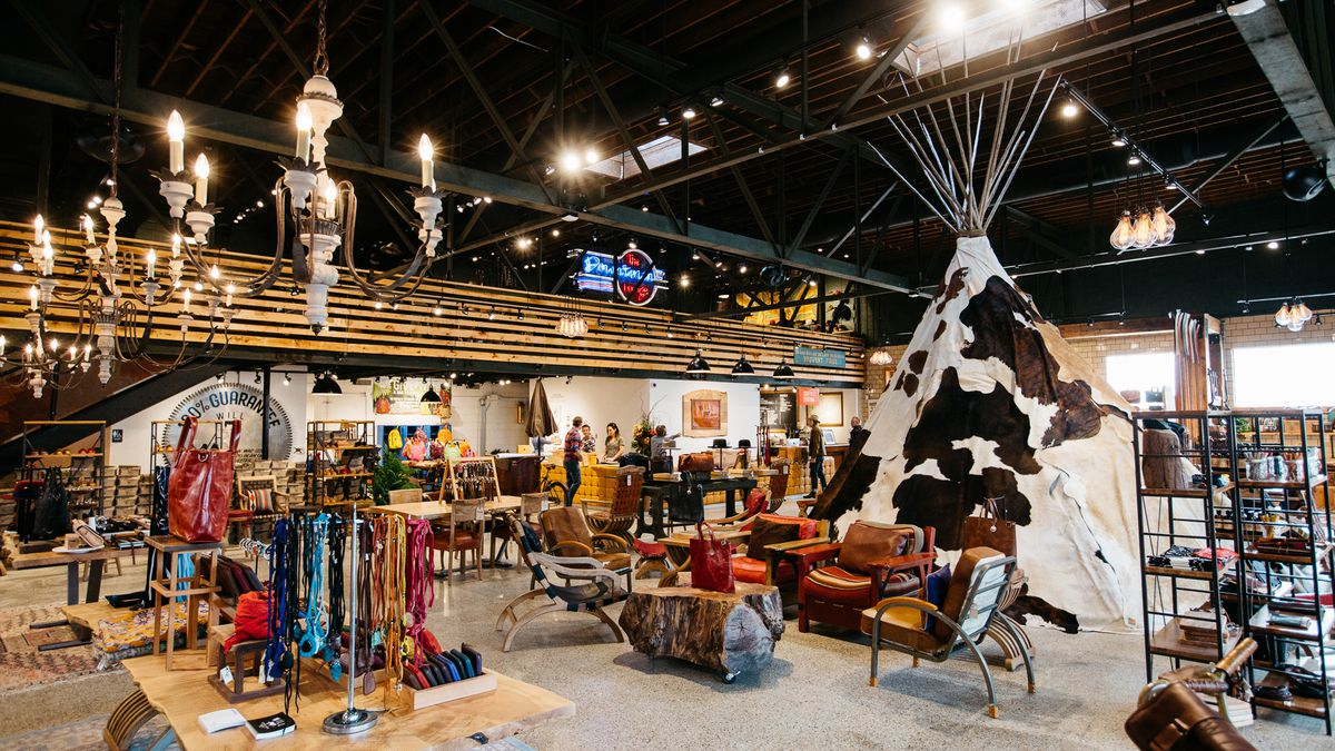 Will Leather Goods' Detroit flagship.