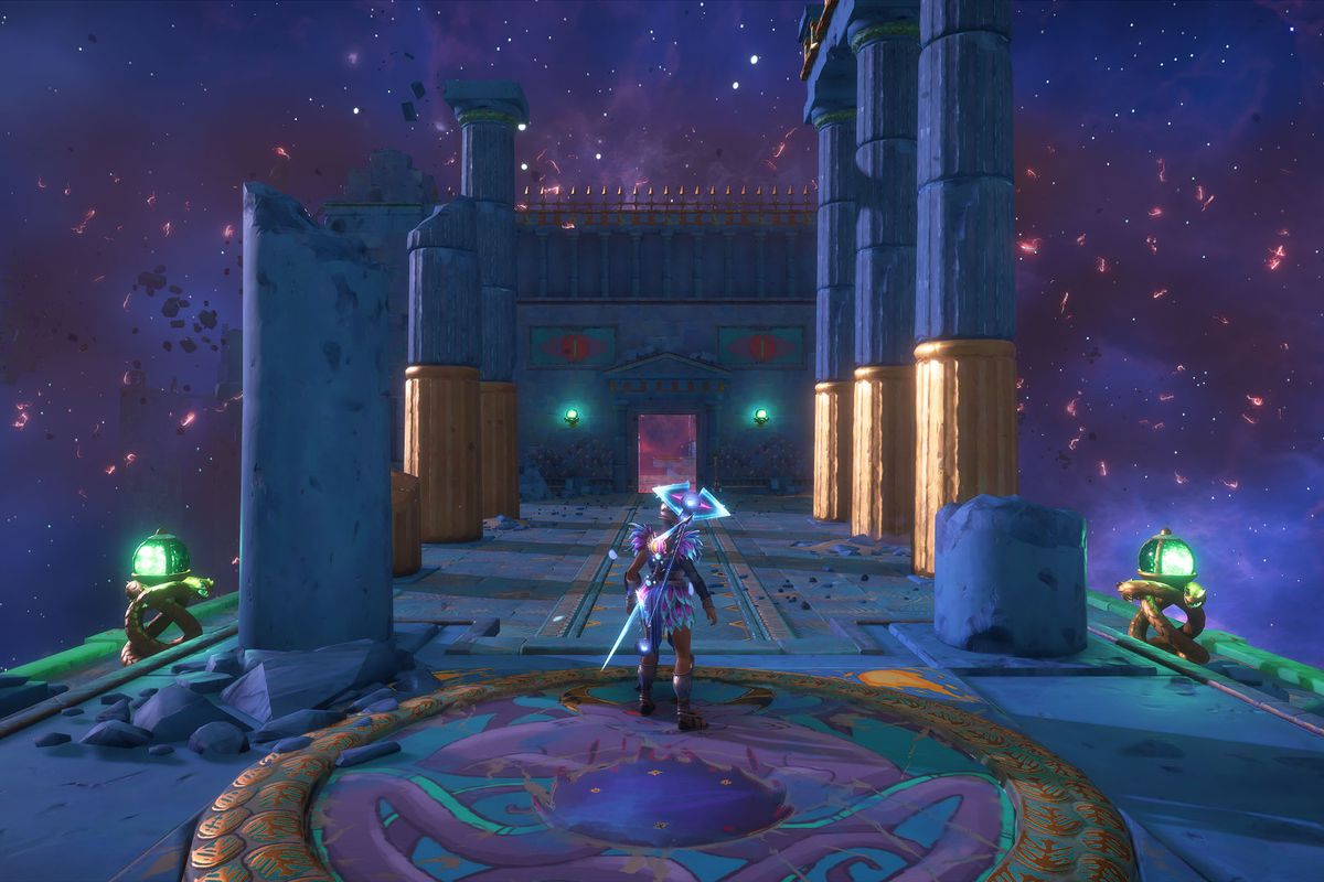 The The Messenger's Path Vault of Tartaros in Immortals Fenyx Rising