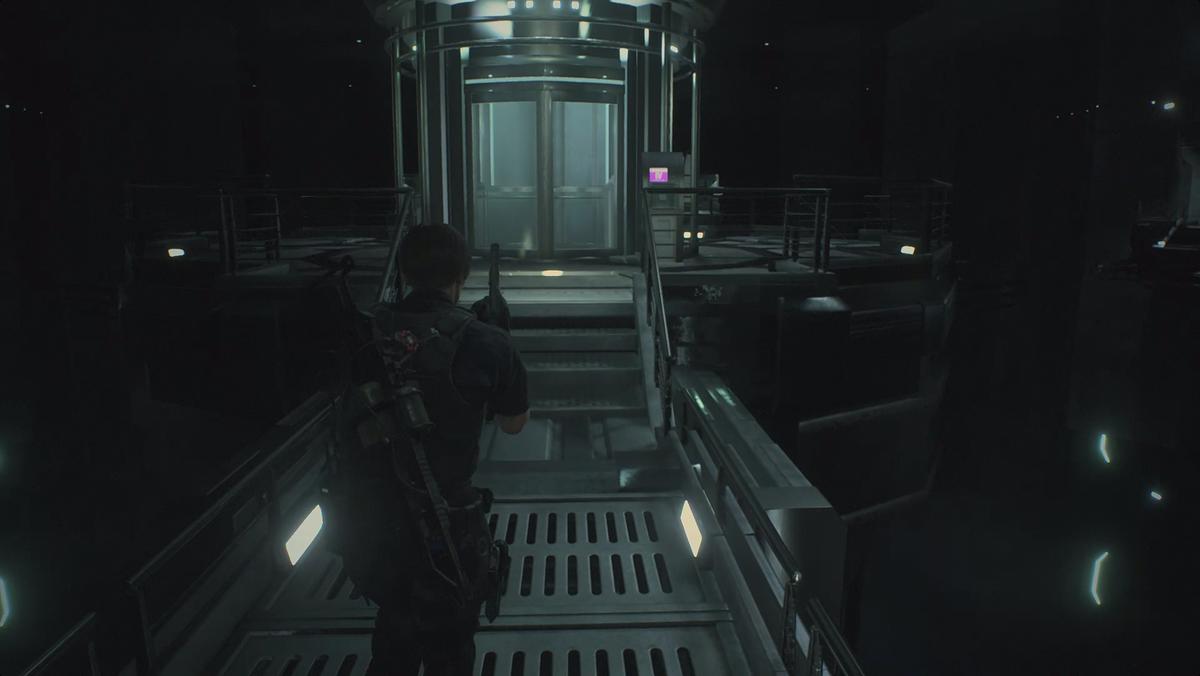 Resident Evil 2Main Shaft
