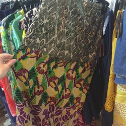 Small leaf abstract narrow skirt, $50 (was $248)