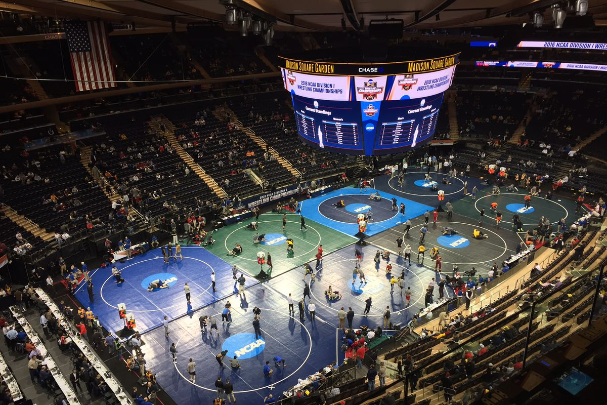 Maryland finished 64th out of 72 teams at the NCAA Wrestling Championships