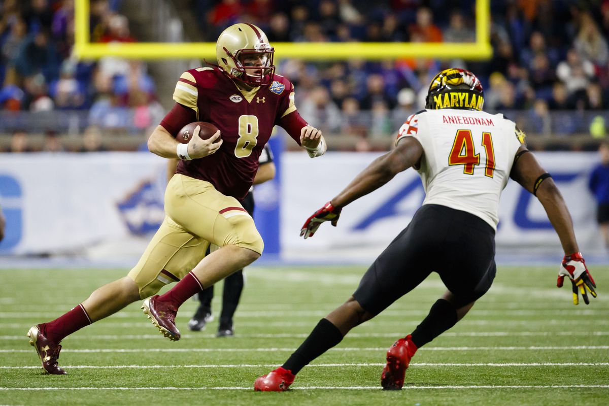 NCAA Football: Quick Lane Bowl-Boston College vs Maryland