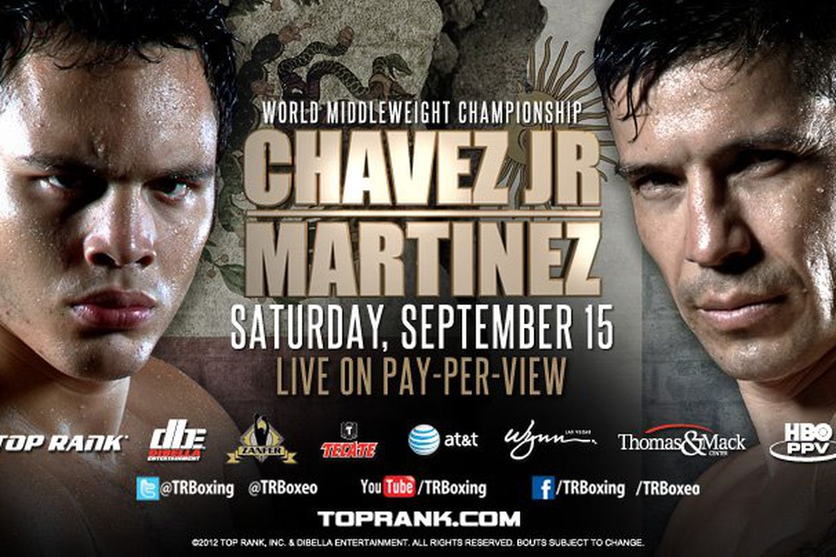 Chavez Jr vs Martinez: How to Watch Online, Fight Time, TV Schedule