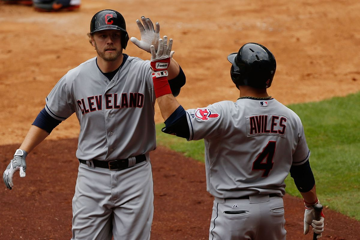 Mark Reynolds and Mike Aviles.