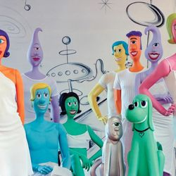 A pop-surreal collection from artist <b>Kenny Scharf</b>, 2000