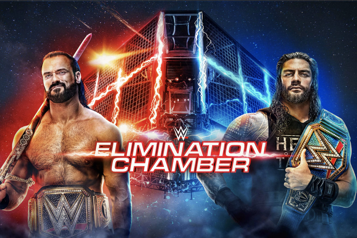 Watch WWE Elimination Chamber 2021 PPV 2/21/21