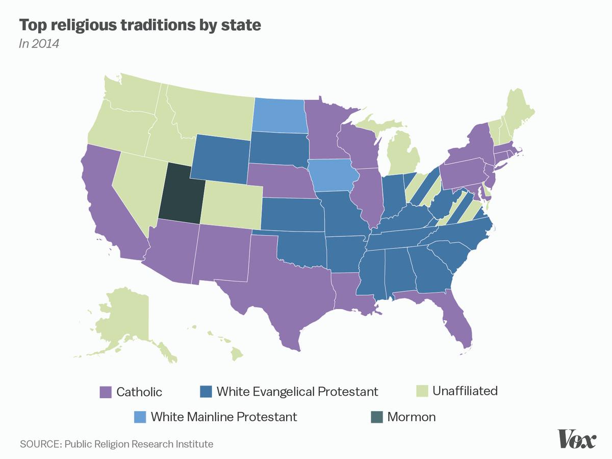 religion map