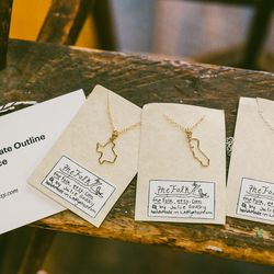 Etsy's known for the delicate jewelry available on its site.