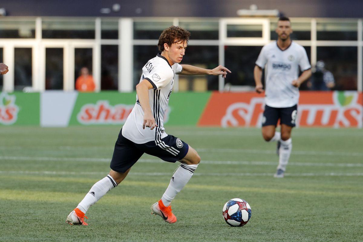 SOCCER: JUN 26 MLS - Philadelphia Union at New England Revolution