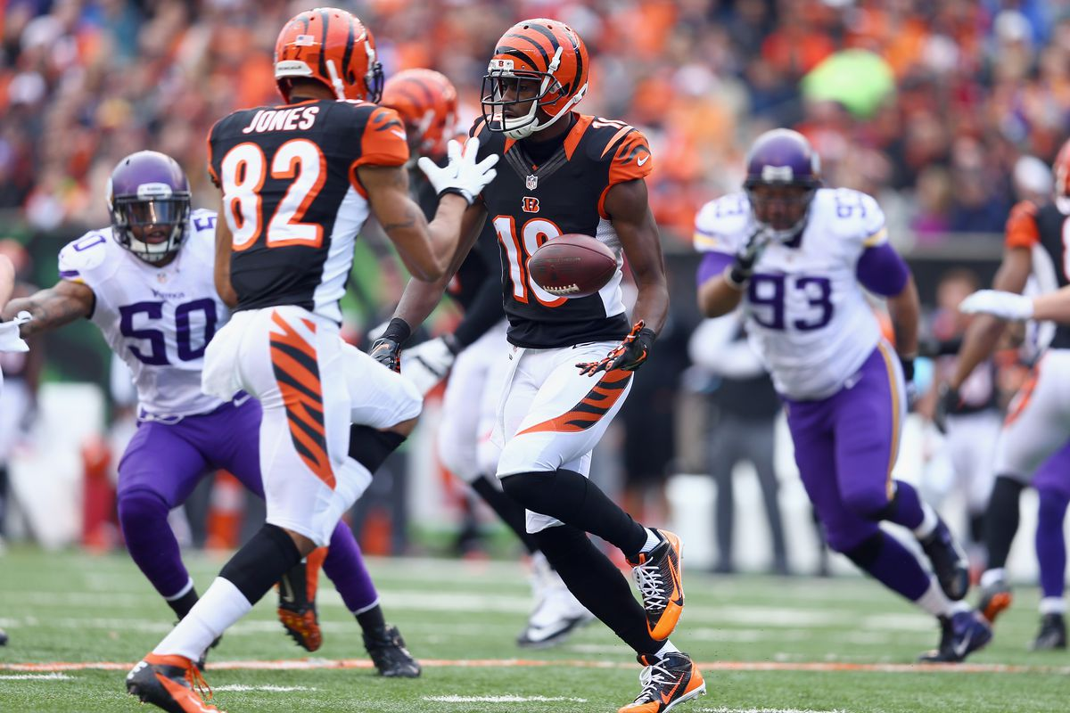 55e85e71834 How will A.J. Green and John Ross compare to Bengals' all-time wide receiver  tandems