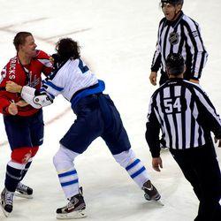 Hendricks and Thorburn Fight