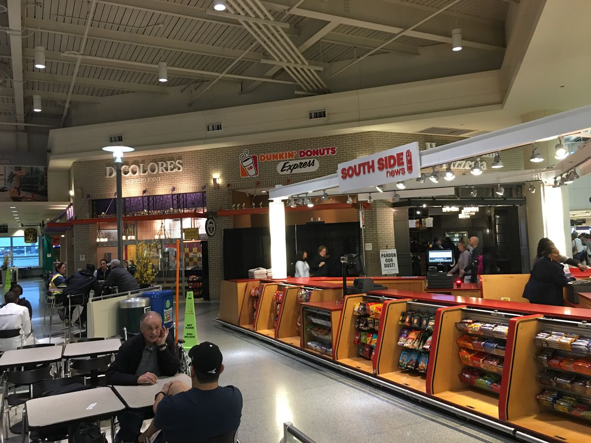 Midway Airport Unveils Many New Dining Upgrades Including A White