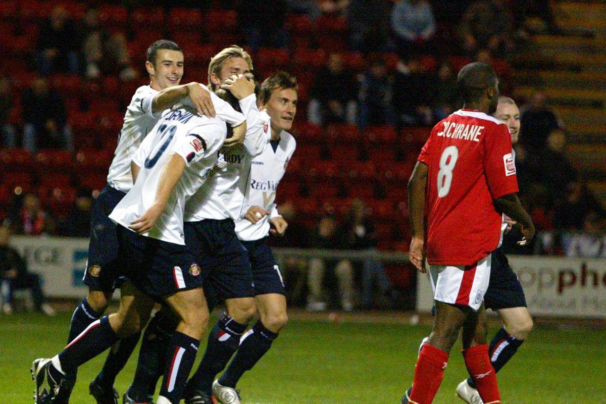 Soccer - Carling Cup - Second Round- Crewe Alexandra v Sunderland