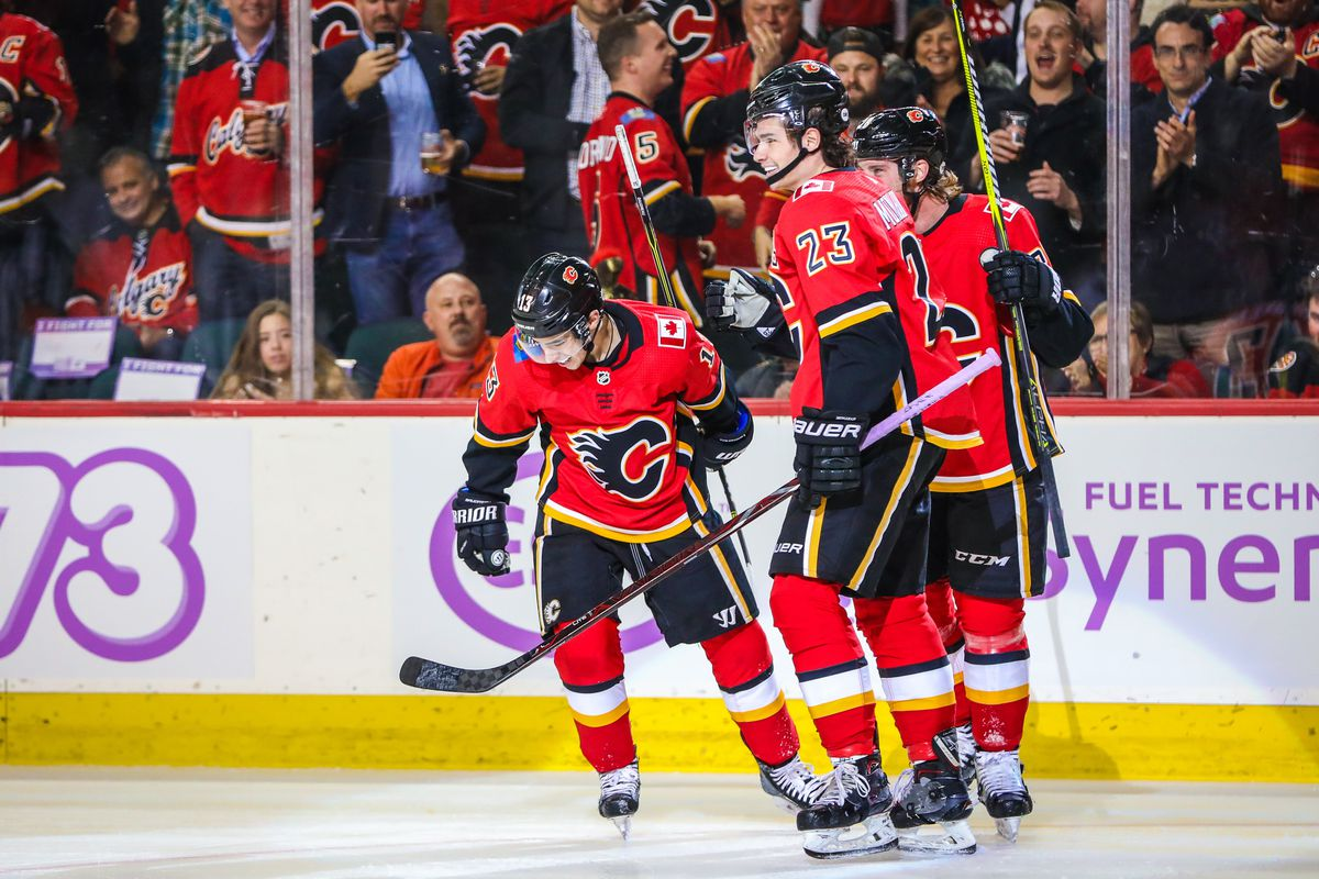 Calgary Flames 7 Vs Vegas Golden Knights 2 Goals Goals And