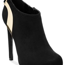 "Thalia Sodi Women's Miel High Heel Booties <a href=""http://www1.macys.com/shop/product/thalia-sodi-womens-miel-high-heel-booties?ID=1857559&CategoryID=69929#fn=sp%3D1%26spc%3D18%26ruleId%3D%26slotId%3D9"">$89.50</a>."