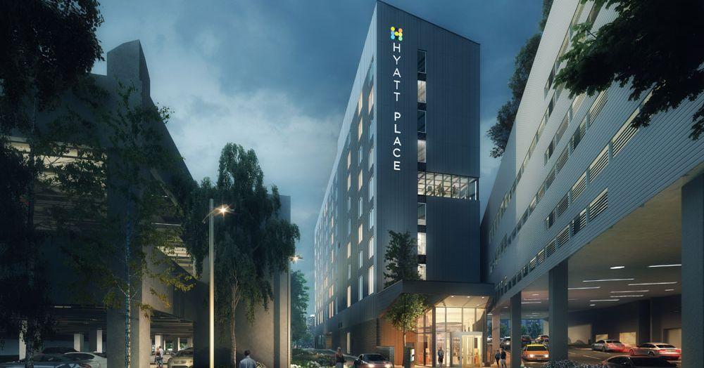 Renderings Dunwoody Hotel At Transit Oriented Development