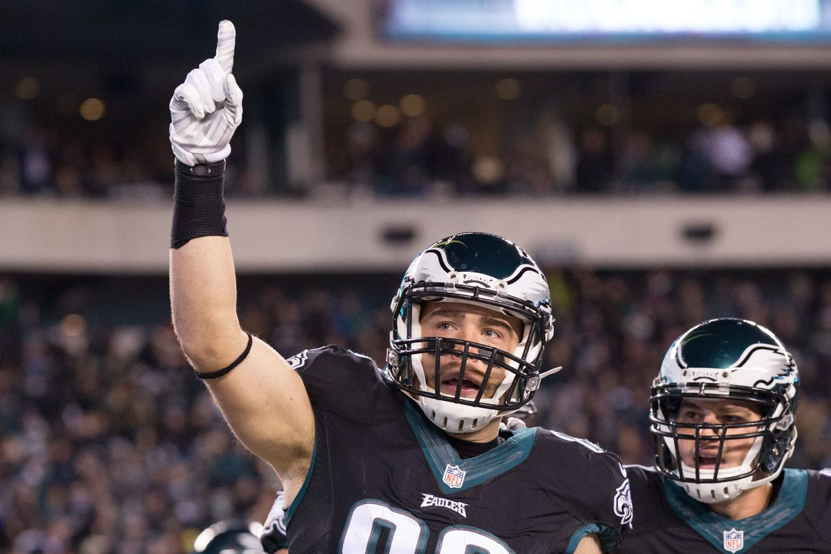 Zach Ertz thinks you're number one, Eagles fans.