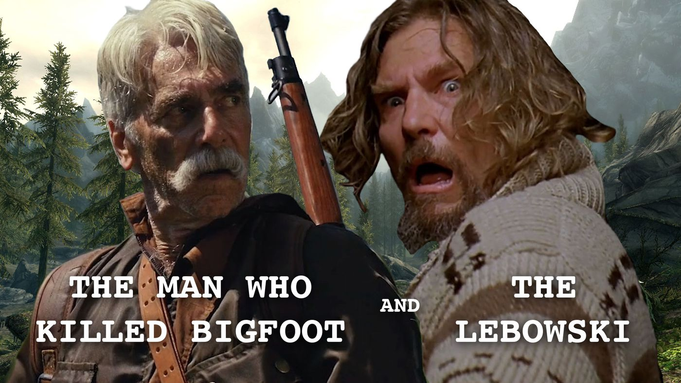 Sam Elliot Hunts Jeff Bridges In 'The Man Who Killed Bigfoot And Then The Lebowski'
