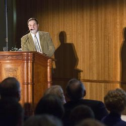 Dr. Brad Bushman, (Professor of Communication and Psychology, The Ohio State University) gives the Tenth Annual Lecture for the Marjorie Pay Hinckley Endowed Chair in Social Work and the Social Sciences.