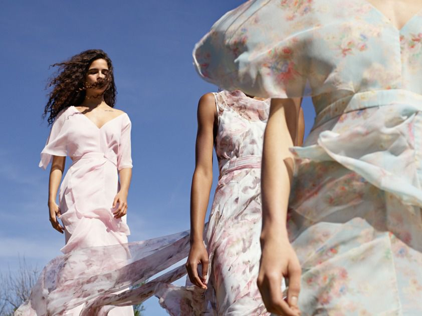 Topshop\'s New Wedding Gowns and Bridesmaid Dresses Are Out Today ...