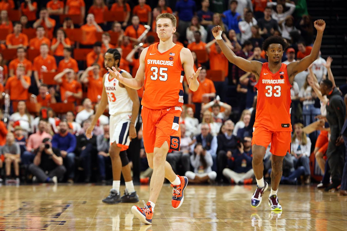 Buddy Boeheim on his 3-point heave in Syracuse's OT win at Virginia: 'I  didn't even believe it at first' - Troy Nunes Is An Absolute Magician