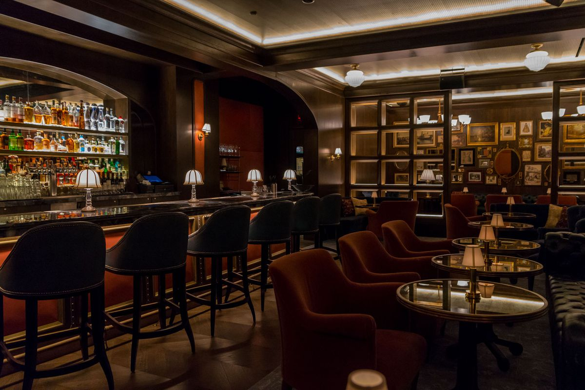 The Champagne Lounge at Bavette's