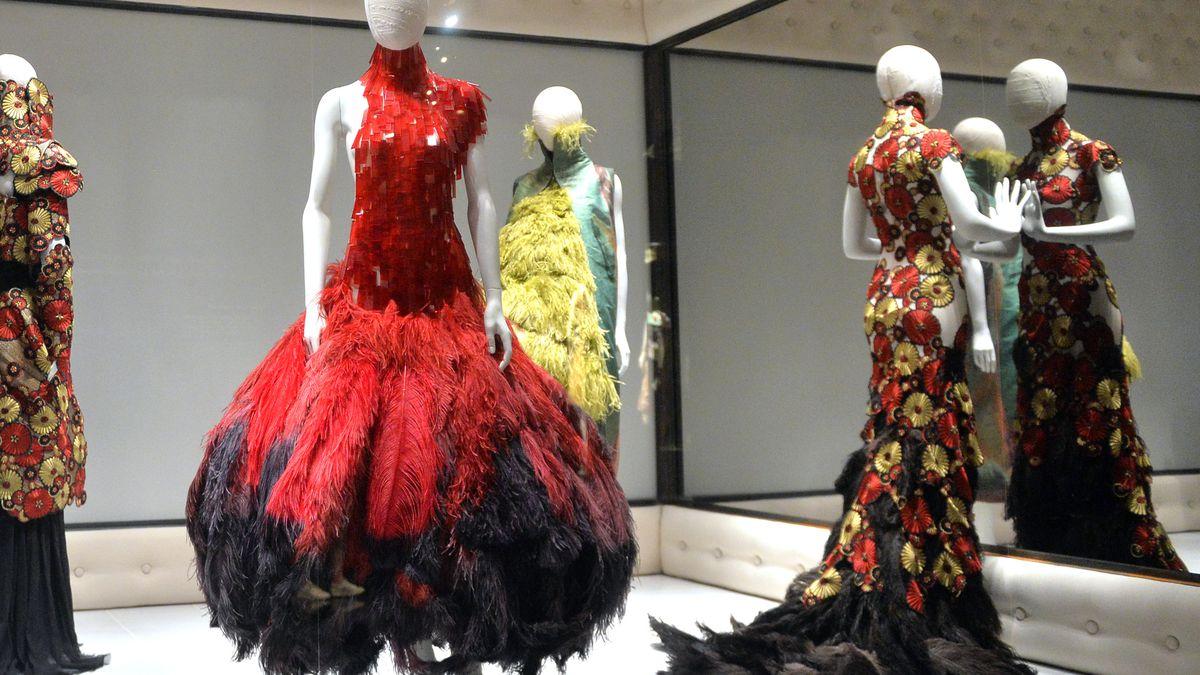 """""""Savage Beauty"""" the Metropolitan Museum of Art's Alexander McQueen retrospective."""