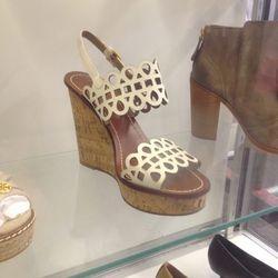 Wedge sandal, $150