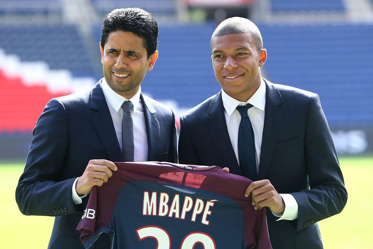Paris Saint Germain Unveiling New Signing Kylian Mbappe