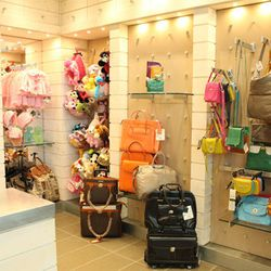 Although chocolates may star in the store's name, Marilla Chocolate Company offers a selection of children's gifts and bags and luggage that outshine the sweets.