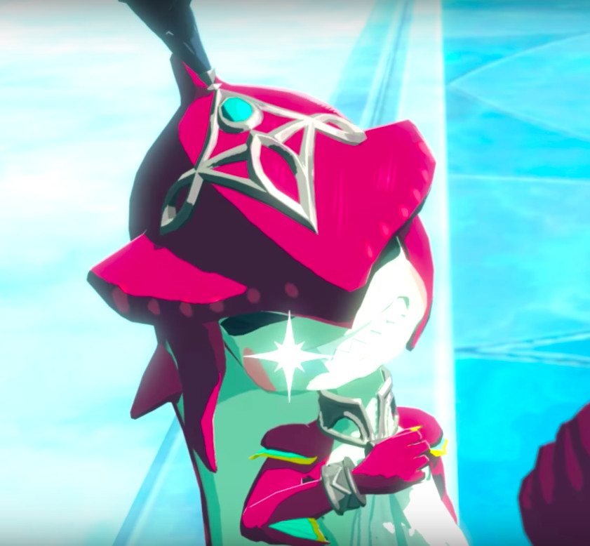 Breath of the Wild's Prince Sidon is somehow cuter as a baby