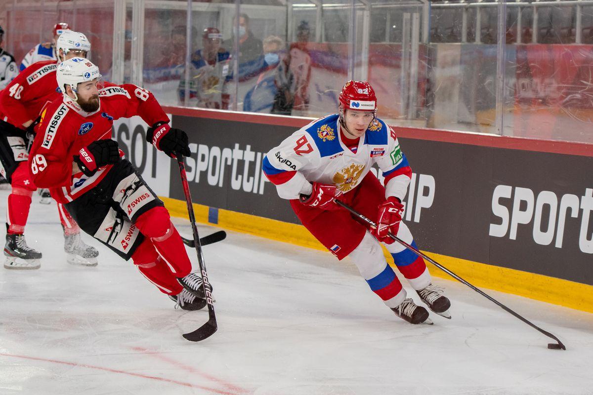 Switzerland v Russia: Ice Hockey Friendly