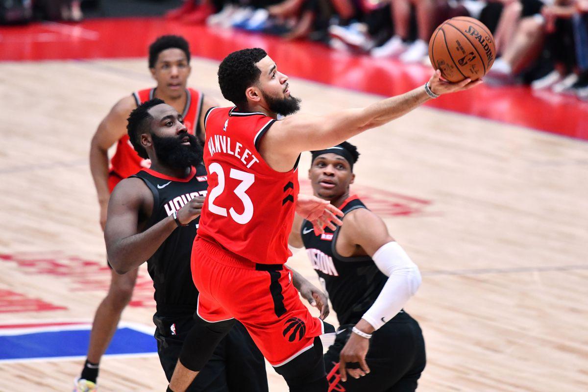 Rockets fall to Raptors in Japan